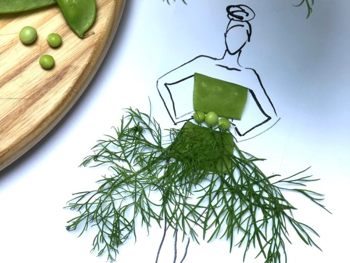 Fruit & Veg Fashion – The Met Ball at your kitchen table