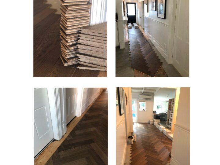 Head over heels for Herringbone – Villa Renovation